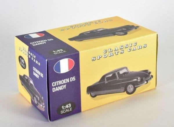 Atlas KL31 1/43 Scale Classic Sports Cars Citroen DS Coupe Le Dandy 1967  Blue